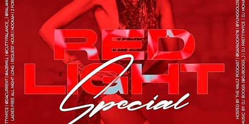RED LIGHT SPECIAL: THE R&B PARTY #CUTTYPALANCE