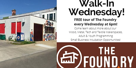 Walk-in Wednesday - Free Tour @The Foundry tickets