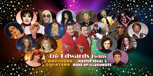 Cher Elton Bocelli Streisand & More Vegas Edwards Twins impersonators