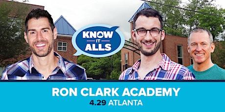 Survivor Know-It-Alls Atlanta at the Ron Clark Academy tickets