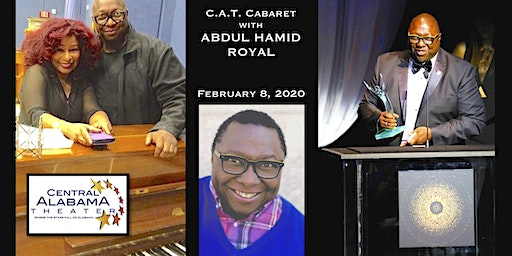 """CAT CABARET,   An evening with Broadway Music Man  """"Abdul Hamid Royal""""! ...a few of my favorite things!"""