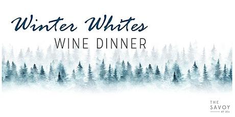 Winter Whites Wine Dinner tickets