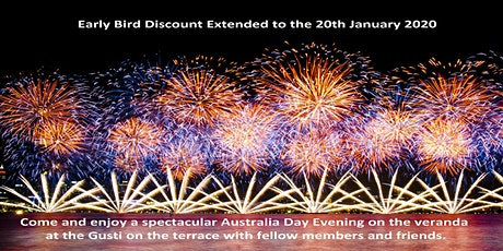 WA Club - Australia Day, Dinner and Skyshow tickets