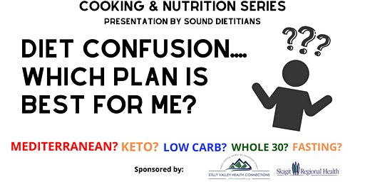 Cooking & Nutrition Series - Diet Confusion....What Plan is Best for Me?