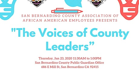 """SBCAAAE Presents: """"The Voices of County Leaders"""" tickets"""