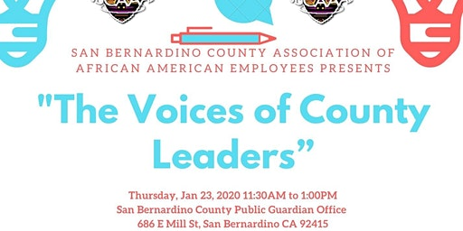 "SBCAAAE Presents: ""The Voices of County Leaders"""