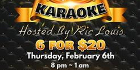 VIP Karaoke With Ric Louis tickets