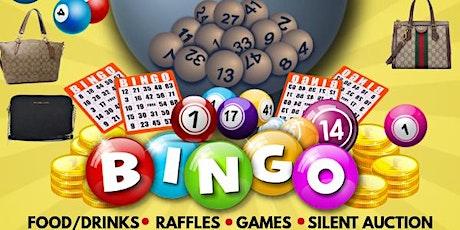 Designer Pocketbook Bingo in Honor of Carmen Calderon tickets