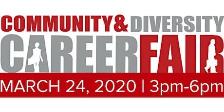 Community & Diversity Career Fair - DWNTWN PHX   Meet with 20+ Diverse Hiring Companies   March 24, 2020 tickets