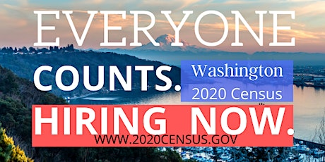 Come Apply For a Census Job tickets