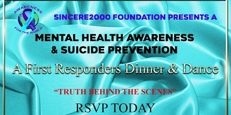 Sincere2000 Foundation's First Responders Dinner &  Dance tickets