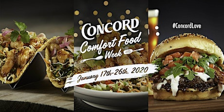 Concord Comfort Food Week tickets