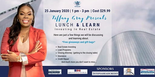 Lunch & Learn Investing In Real Estate