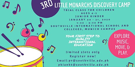 Little Monarchs Discovery Camp Batch 3 tickets