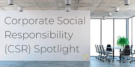 Corporate Social Responsibility Spotlight tickets