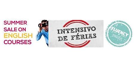 Curso Intensivo de Inglês em Janeiro 2020 - Promoção Summer Courses ingressos