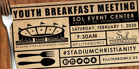Youth/Young Adult Pastor and Leader Breakfast | Fill the Bowls tickets