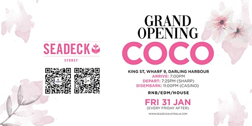 Friday 31 Jan - Grand Opening of COCO Friday's