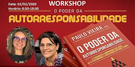Workshop - Poder da Autorresponsabilidade ingressos
