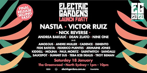 Electric Gardens Launch Party