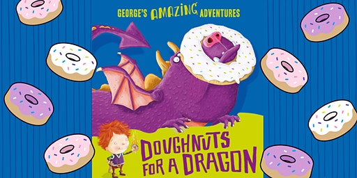 Doughnuts for a Dragon - Storybook and Paint Nights