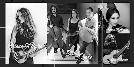 StringQuake and Briana Di Mara Concert tickets