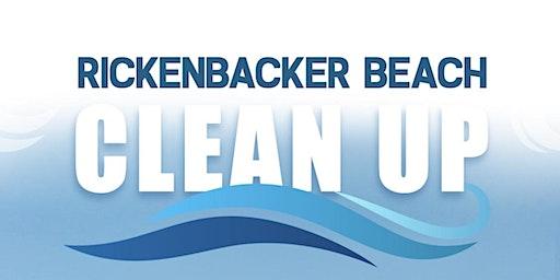 Rickenbacker Beach Clean Up