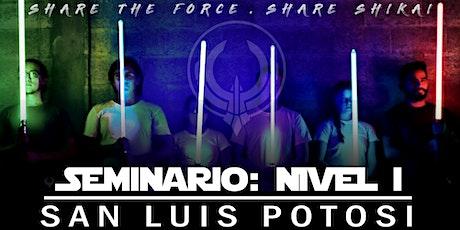 Seminario:Nivel 1 - San Luis Potosi boletos
