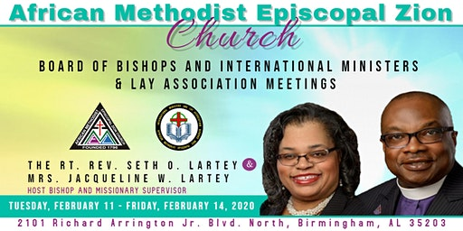 Board of Bishops and International Ministers & Lay Association Meetings