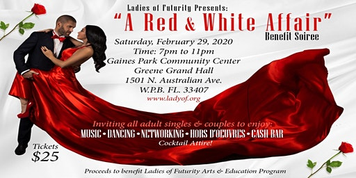 A Red & White Affair: Benefit Soirée