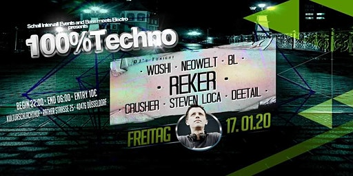 100%Techno bei Schall Intervall Events & BassMeetsElectro