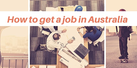 How to get a job in Australia tickets