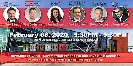 Land Investing - Commercial Real Estate Seminar tickets