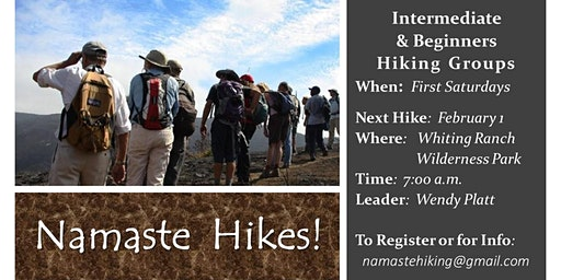 Namasté Hikes - Whiting Ranch Wilderness Park!