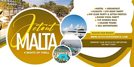 JetOutMalta 2020 tickets