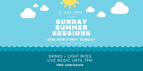 Summer Sessions: Live music, drinks & light meals! tickets