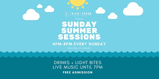 Summer Sessions: Live music, drinks & light meals!