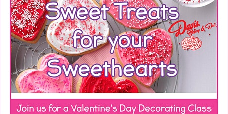 Valentine's Day Decorating Class tickets
