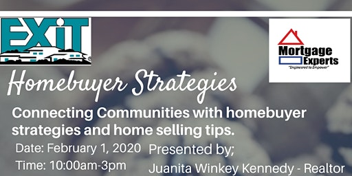 Homebuyer Strategies and Home Selling Tips Community Event