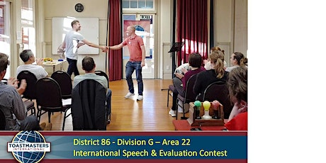 District 86 Division G - Area 22 International Speech & Evaluation Contest tickets