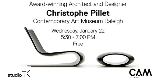 Award-Winning Architect + Designer Christophe Pillet at CAM