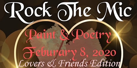 Rock The Mic Paint & Poetry Lovers Edition tickets