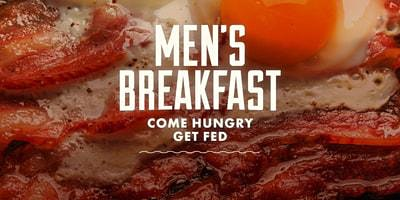 Men's Breakfast - WOMEN & YOUTH INVITED