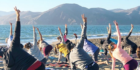 FULL MOON Beach Yoga with Julie! tickets
