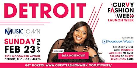 CURVY Fashion Week Detroit Edition S/S 2020 tickets