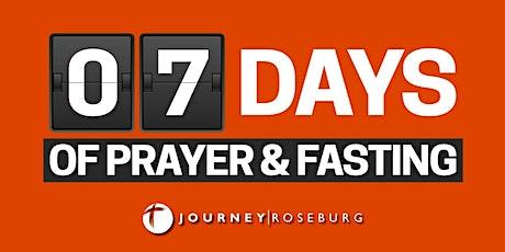7 Days of Prayer & Fasting tickets