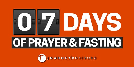 7 Days of Prayer & Fasting