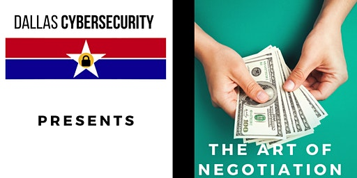 The Art of Negotiation in Cyber Security - Sponsored by Hays