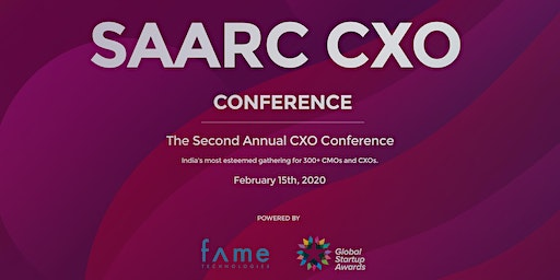 SAARC CXO Conference 2020(Paid Event)