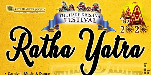 Hare Krishna Festival - Ratha Yatra 2020